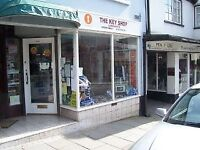 Retail shop to let Ruthin