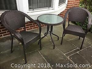 Patio Table and Chairs B