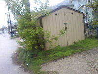 8x8 utility shed