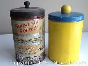 Antique And Vintage Tins