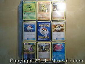 110+ Collectible Pokemon Trading Cards