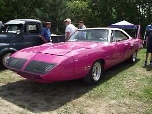 1970 Panther Pink Superbird