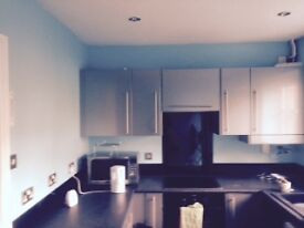 Beautiful modern two double bedroom flat in Sandyford, NO FEES