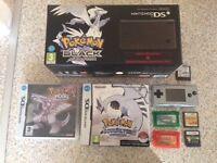 DSi Pokemon Black + Game Boy Micro