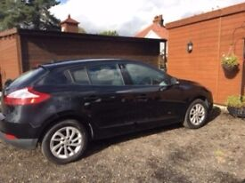 2013 Renault Megane full MOT, FSH, Excellent Condition, 1.6 manual Tomtom edition