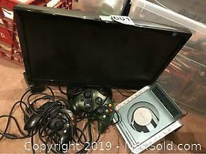 Television and CD Player A