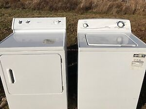 Moffat Washer and Dryer