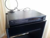 BLACK YAMAHA NATURAL SOUND AM/FM STEREO TUNER TX-540 (MADE IN £15 RADIO GOOD WORKING .