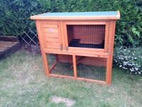 Animal Hutch and Pen with accessories
