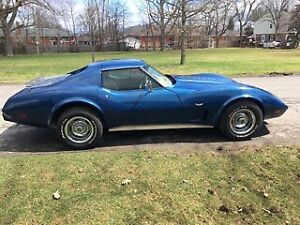 Get ready for Spring in this 1977 mint condition Corvette