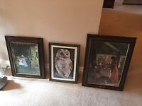 Picture Frames - Collection of various types