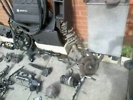 2008 vectra 1.9 cdti 150 breaking PARTS hub shocker shaft spring ac abs pump injector