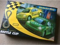 Scalextric Beetle Cup set with additional track and cars