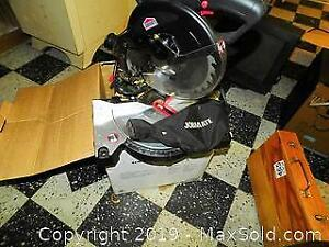 Compound Miter Saw And Wood Working Tool Kit A