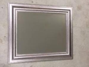 Mirror - silver frame O'Connor North Canberra Preview