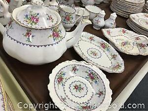 Royal Albert Petit Point Dishes Set Of 12 Plus