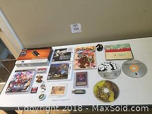 Video Game & Toy Lot