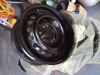 """15"""" Steel rims great condition"""