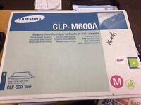 Samsung CLP-M600A Magenta Toner Cartridge genuine part