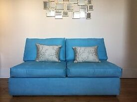 Sofa bed: 3-seater sofa with comfortable double bed