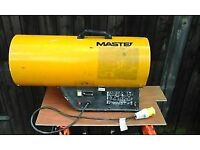 Space heater Master 49 to 73kw