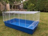 Indoor rabbit/guinea pig hutch. Excellent condition.
