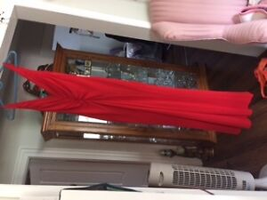Beautiful Red Gown size: 10-12