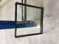 Double glazed panel - approx 298 x 298 mm