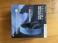 PlayStation Gold Wireless Headset - Uncharted 4 Limited Edition