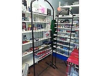 2 x wire metal display stands for shop display