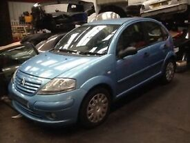 CITROEN C3 1.4 HDI BREAKNG FOR SPARE PARTS PLEASE CALL 07593085858