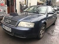 Audi A6 2003 1.9 Diesel Blue 4dr Breaking For Spares - wheel nut