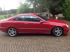 Mercedes CLK 320 CDI Coupe, Auto, 1 Lady Owner from new.
