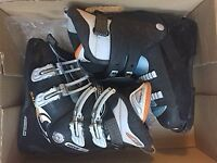 Ski boots size 5: 10% of their price - 160 new!