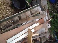 Bits of wood for fire/stove