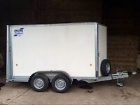 Ifor Williams Twin Axle Box Trailer BV105