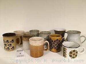 Collection of Brown Mugs - Pickup A