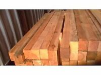 Timber posts also ideal for Decking and other garden projects
