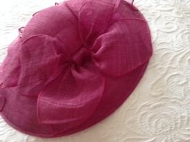 Deep Pink Ladies Hat made by Accessorize - worn once