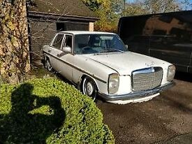 Mercedes W114 W115 1976 TAX Exempt MOT Exempt