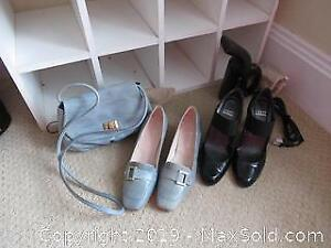 Shoes, Purse and Steamer. A