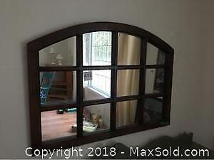 Arched Window Mirror A