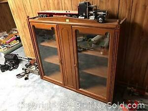 Glass Door Cabinet C