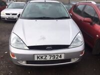 2001 Ford focus, 1.8 petrol, breaking for parts only, all parts available