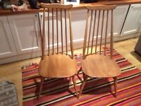 Ercol chairs to sel