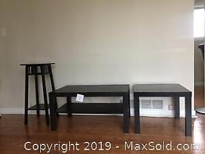 Coffee Table, Side Table and Side Stand
