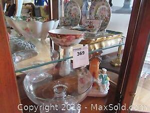 China Bowls, Figurine and More A