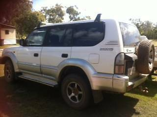 2000 Toyota LandCruiser Wagon Deepwater Gladstone Area Preview