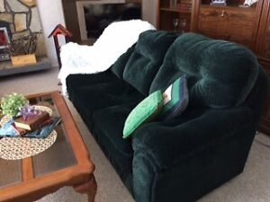 Vintage Couch and Love Seat from smoke free home