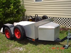 2005 4' X 8' Motorcycle Trailer